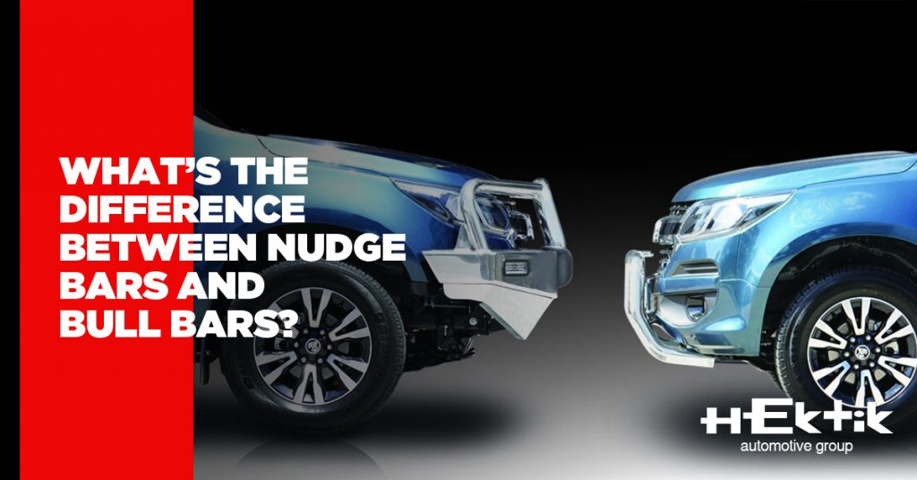 What's the Difference Between Nudge Bars and Bull Bars